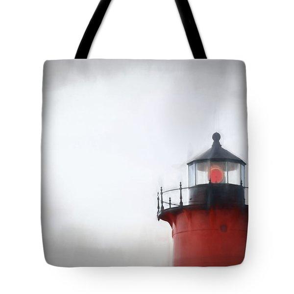 Nauset Lantern And Catwalk Tote Bag