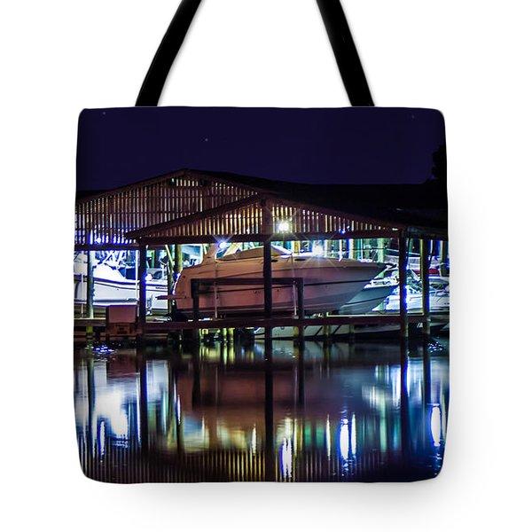 Nautical Lights Tote Bag