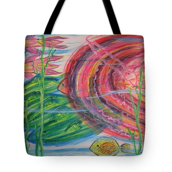 Tote Bag featuring the painting Nautical Rush Hour by Diane Pape