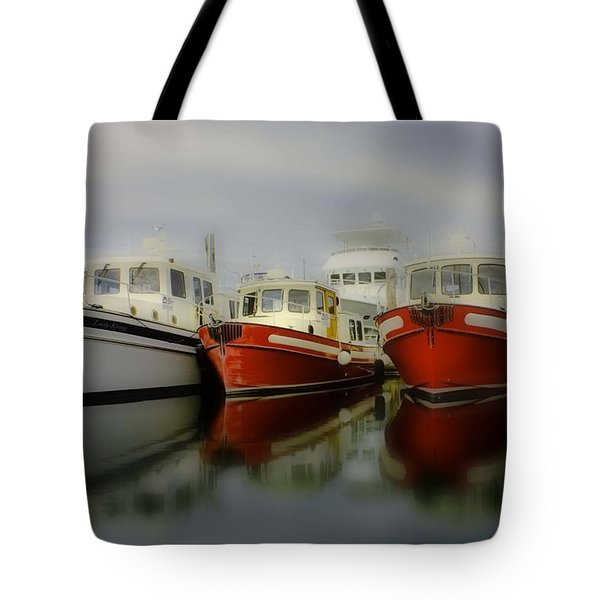 Tote Bag featuring the photograph Nautical by Sonya Lang
