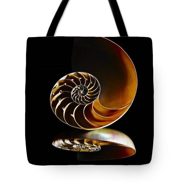 Nautilus Reflection II Tote Bag by Eyzen M Kim