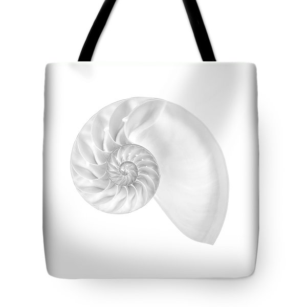 Nautilus Shell Interior Tote Bag