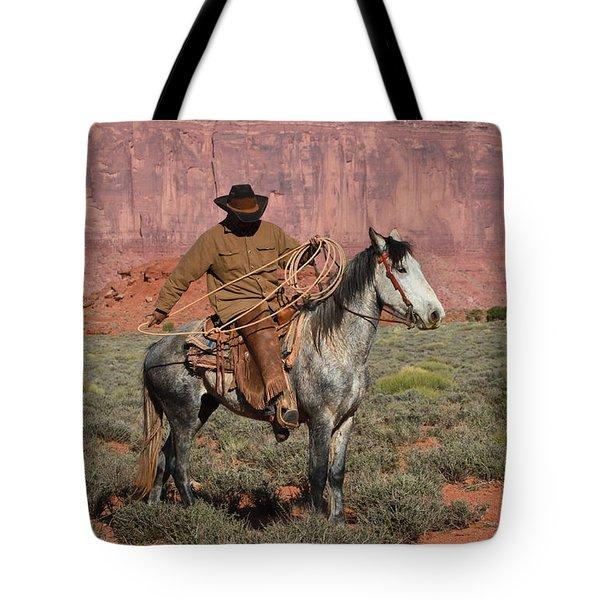 Navajo Cowboy Tote Bag
