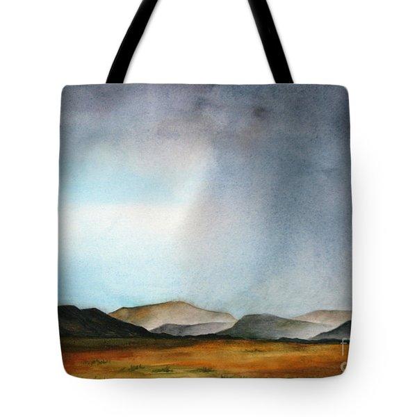 Navajo Storm Tote Bag