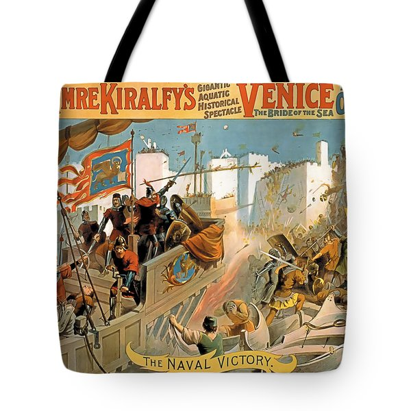 Naval Victory Tote Bag by Terry Reynoldson