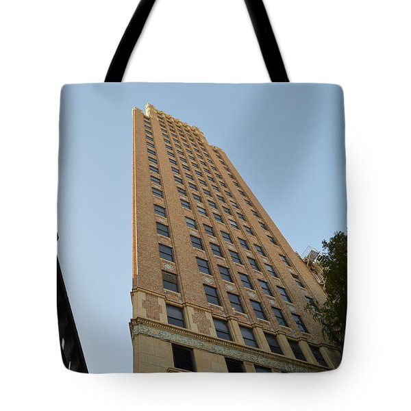Navarro St Illusion Tote Bag by Shawn Marlow
