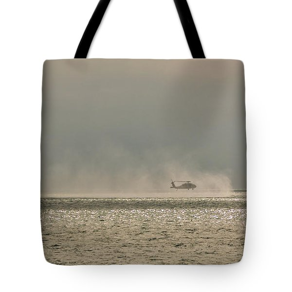 Navy Life Saving Practice Tote Bag by Angela A Stanton
