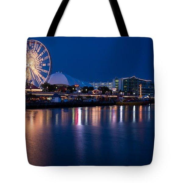 Navy Pier Fireworks Chicago I L Tote Bag