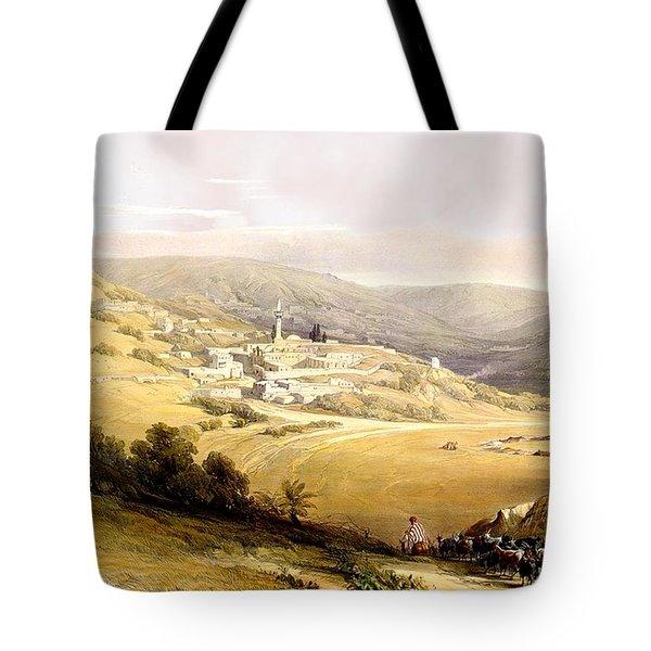 Nazareth Tote Bag by Munir Alawi