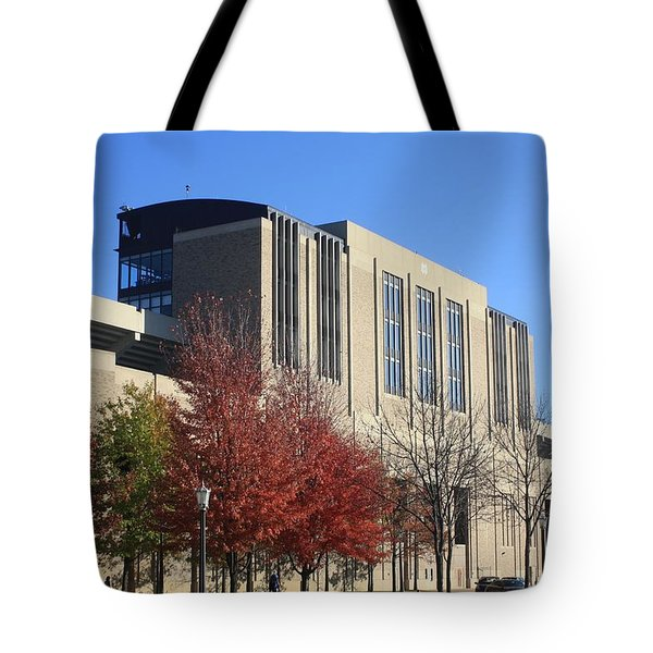 Nd Stadium Tote Bag by Michael Cressy
