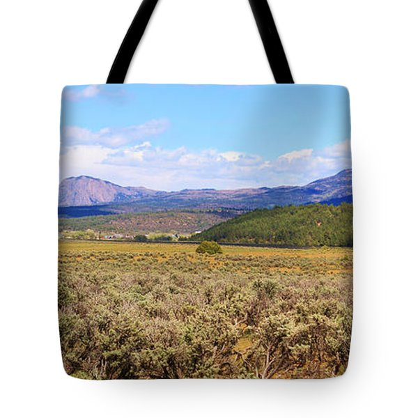 Near Chama New Mexico Tote Bag