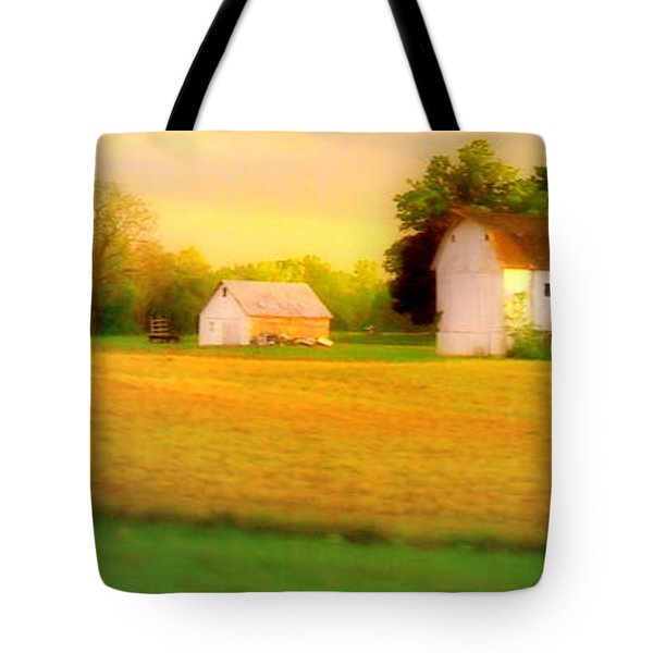 Tote Bag featuring the photograph near East Troy WI by Jodie Marie Anne Richardson Traugott          aka jm-ART