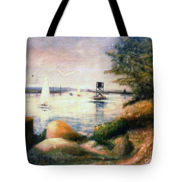Near Greenwich Tote Bag