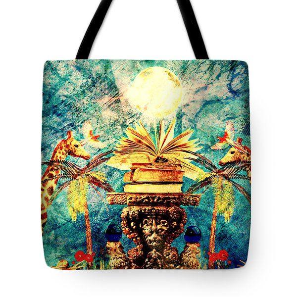 Near Reflections Tote Bag by Ally  White