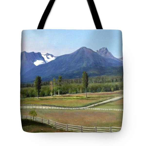 Near Smithers Bc Tote Bag