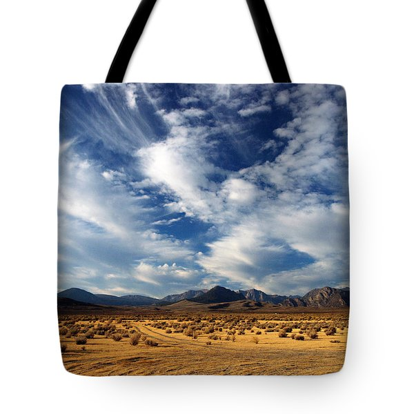 Near The Intersection Of God And The Eastern Sierras Tote Bag