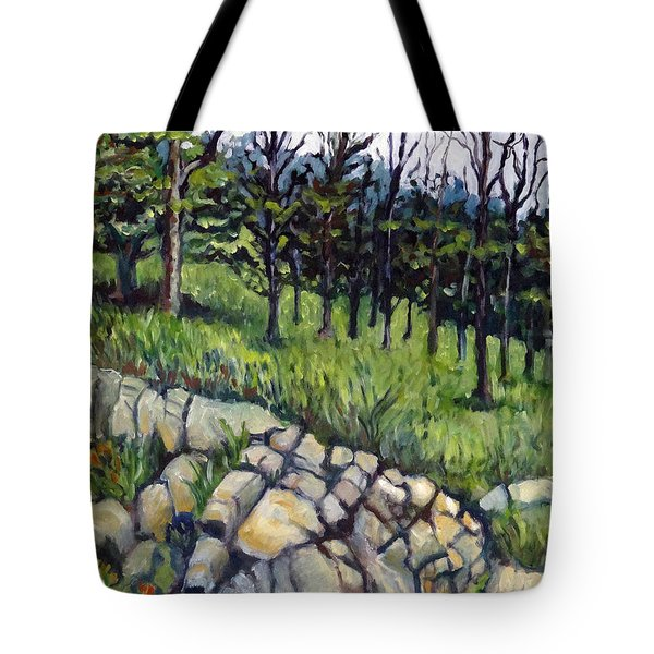 Near Three Rivers Tote Bag