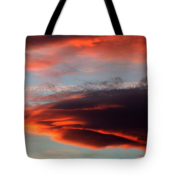 Nearly Red Tote Bag