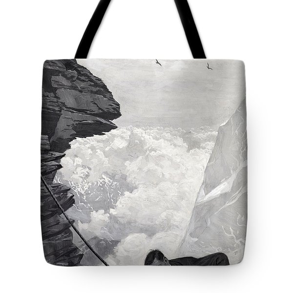 Nearly There Tote Bag by Arthur Herbert Buckland