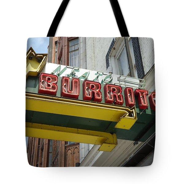 Neato Burrito Tote Bag