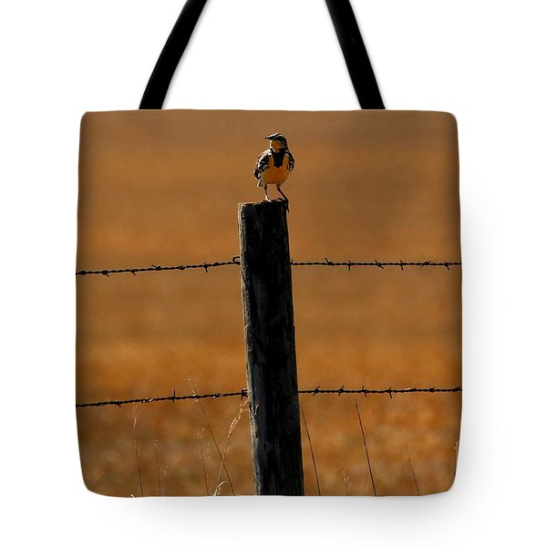 Nebraska's Bird Tote Bag by Elizabeth Winter