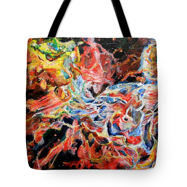 Nebula Tote Bag by Art by Kar