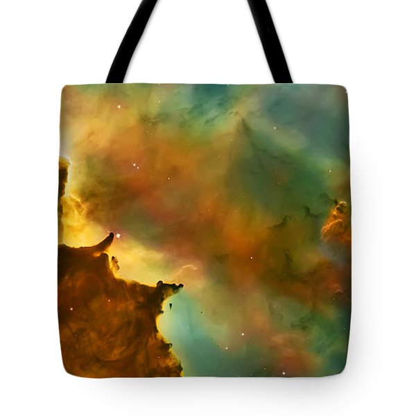 Nebula Cloud Tote Bag by Jennifer Rondinelli Reilly - Fine Art Photography