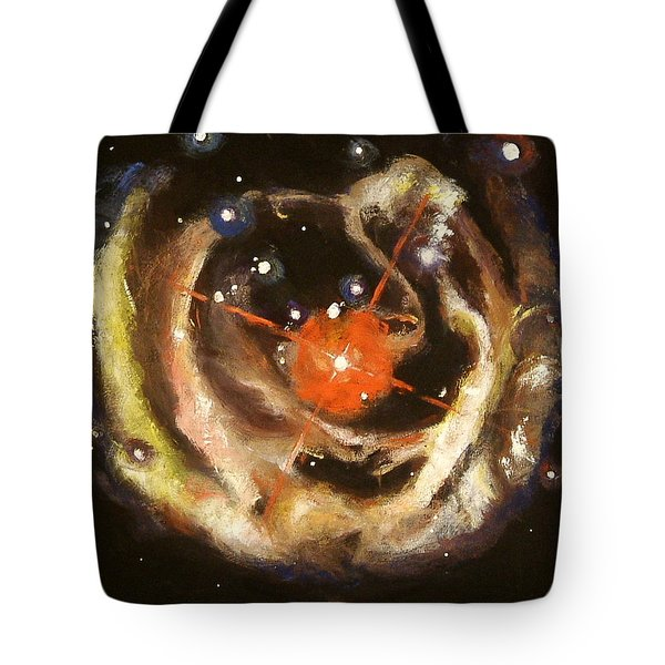 Nebula Tote Bag by Sheila Diemert