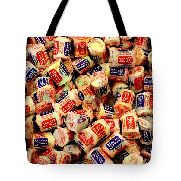 Necco Wafers Tote Bag