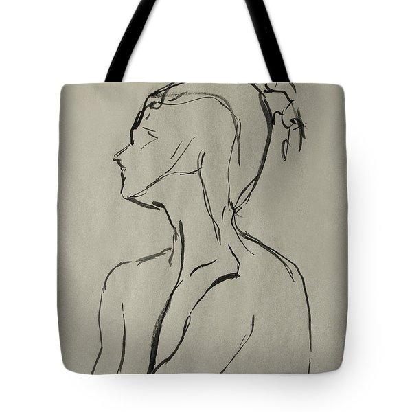 Neckline Tote Bag by Peter Piatt