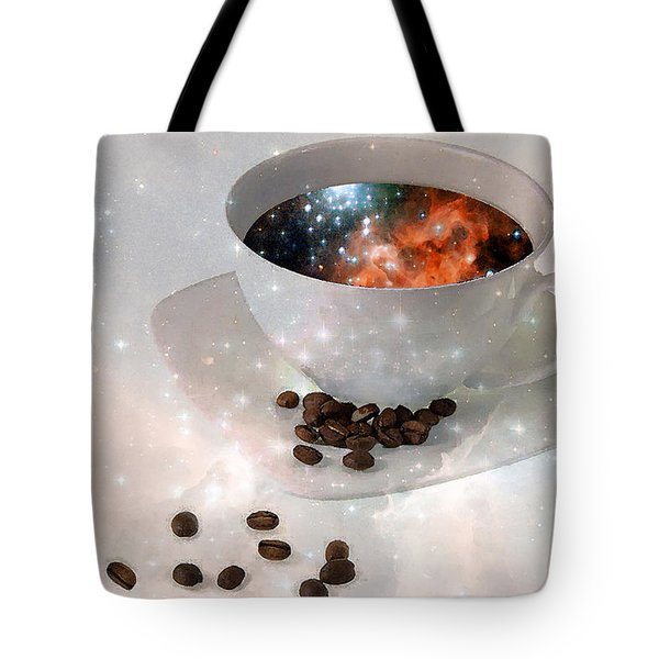 Nectar From Heaven - Coffee Art By Sharon Cummings Tote Bag by Sharon Cummings