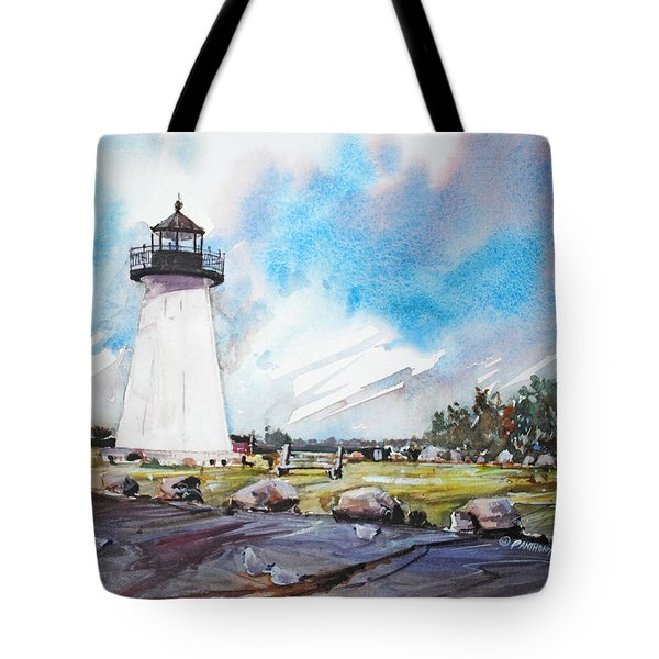 Ned's Point Light Tote Bag