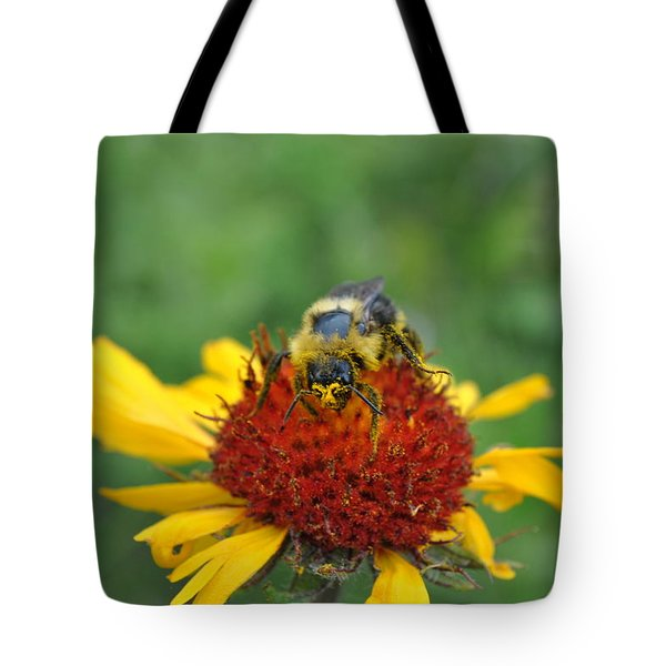 Need More Pollen Tote Bag