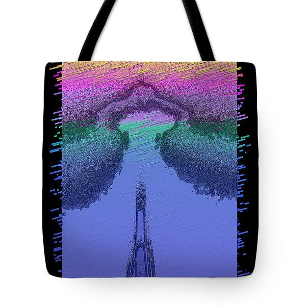 Needle In The Mist Tote Bag