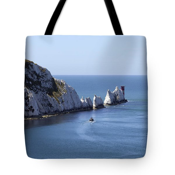 Needle's Isle Of Wight Tote Bag