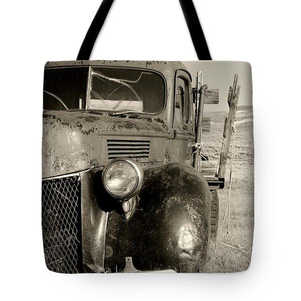 Needs Gas By Diana Sainz Tote Bag