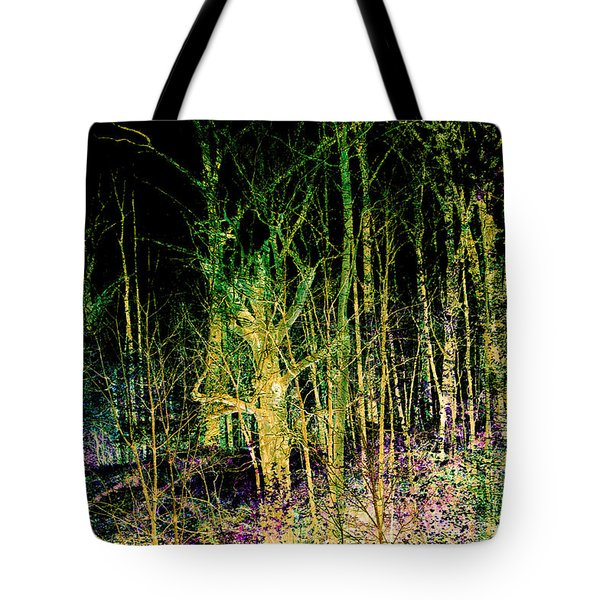 Negative Forest Tote Bag