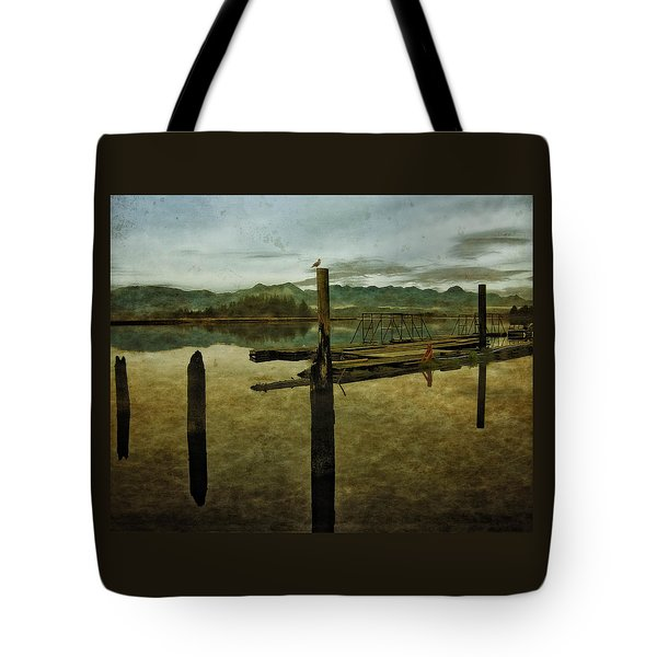 Nehalem Bay Reflections Tote Bag