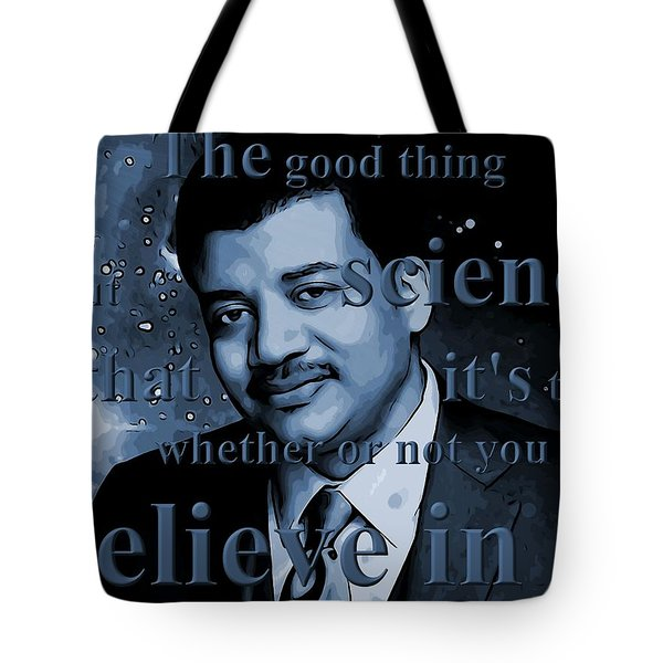 Neil Degrasse Tyson Tote Bag