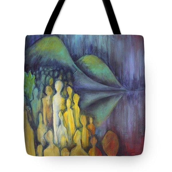 Neither Here Nor There Tote Bag