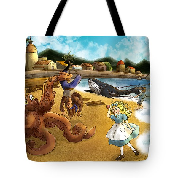 Nellie The Octopus Tote Bag