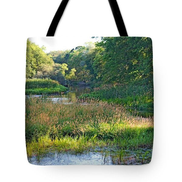 Nemasket River  Tote Bag