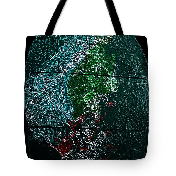 Tote Bag featuring the painting Nemesis by Gloria Ssali