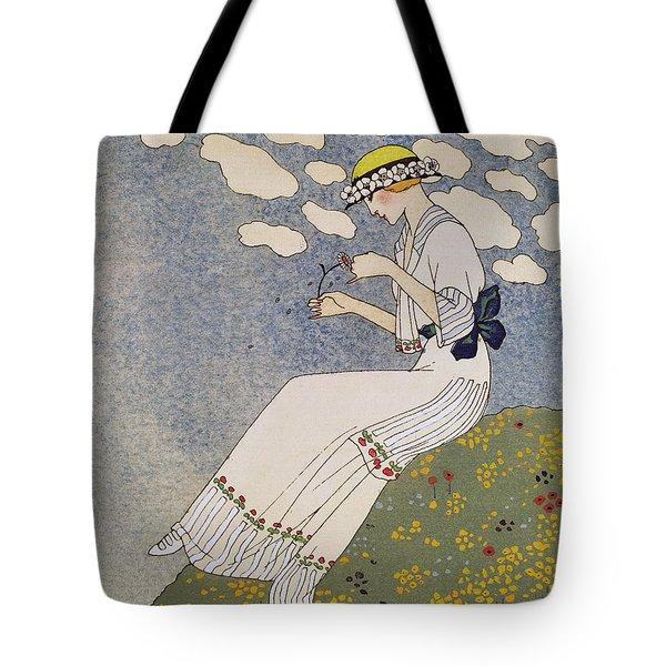 N'en Dites Rien Tote Bag by Georges Barbier