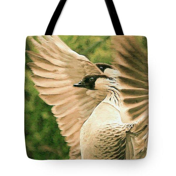 Nene Goose Tote Bag
