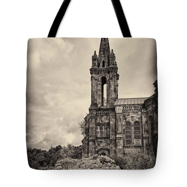 Neo Gothic Chapel Tote Bag