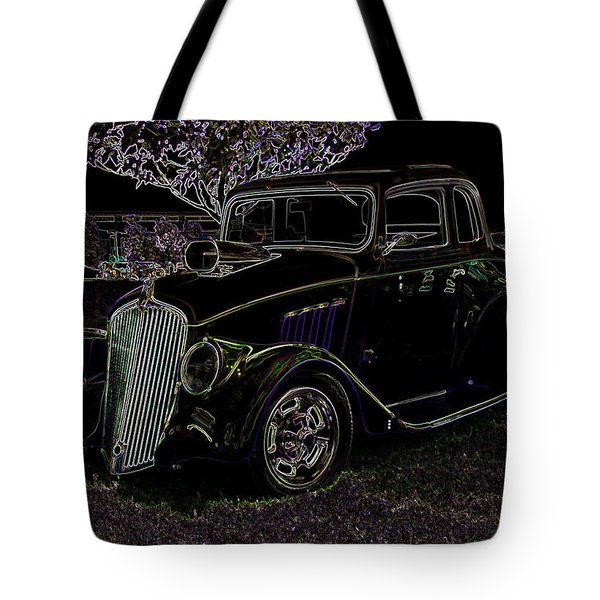 Neon Classic Tote Bag by Chris Thomas