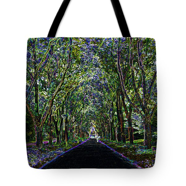 Neon Forest Tote Bag