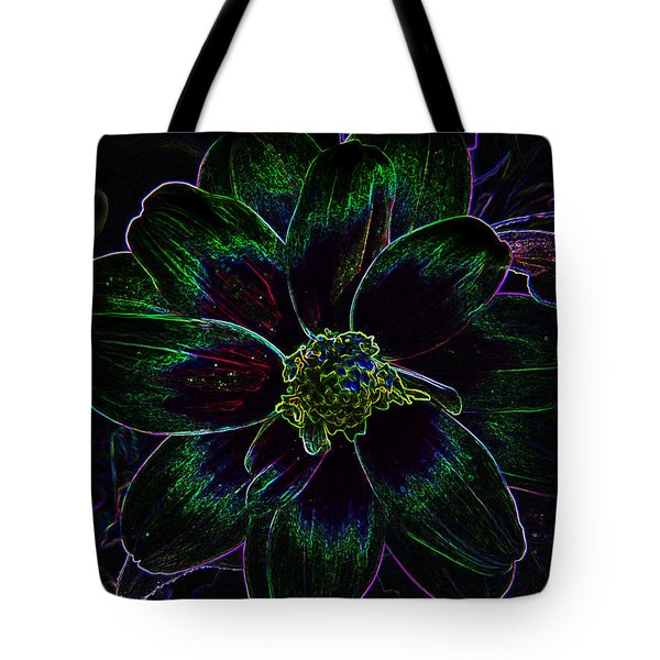 Neon Glow Tote Bag by Aimee L Maher Photography and Art Visit ALMGallerydotcom