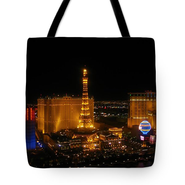 Tote Bag featuring the photograph Neon Illusion by Angela J Wright